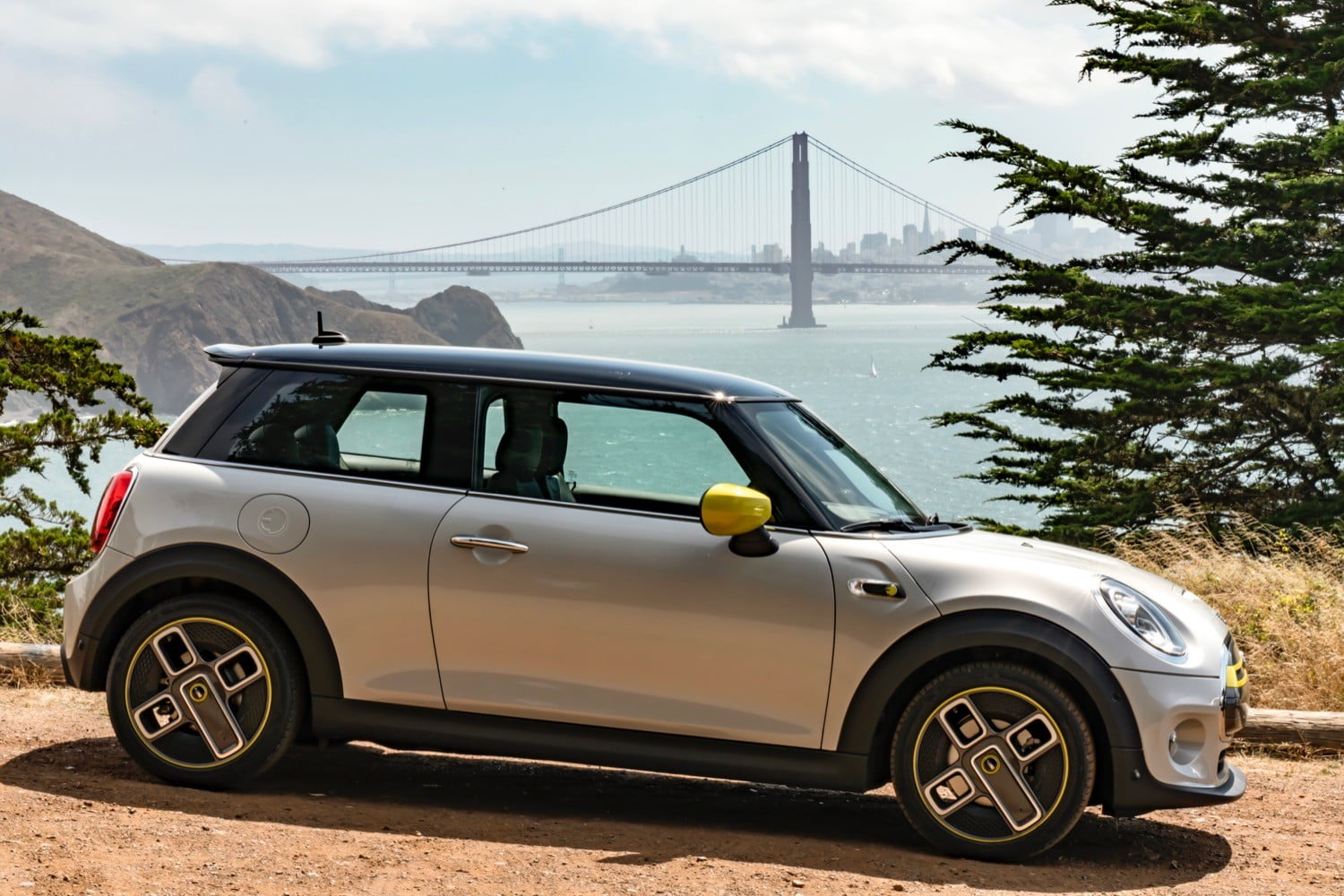 All-electric Mini Cooper SE road-tripped from San Francisco to Los Angeles