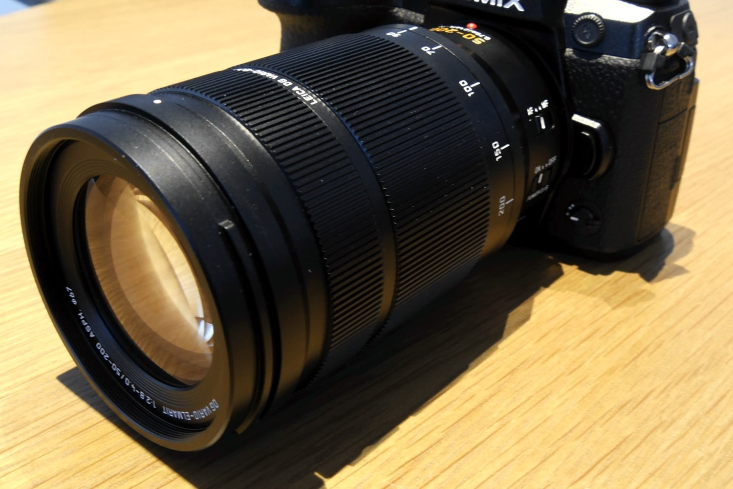 Panasonic's Latest Lens Delivers 200mm of Bright, Stabilized