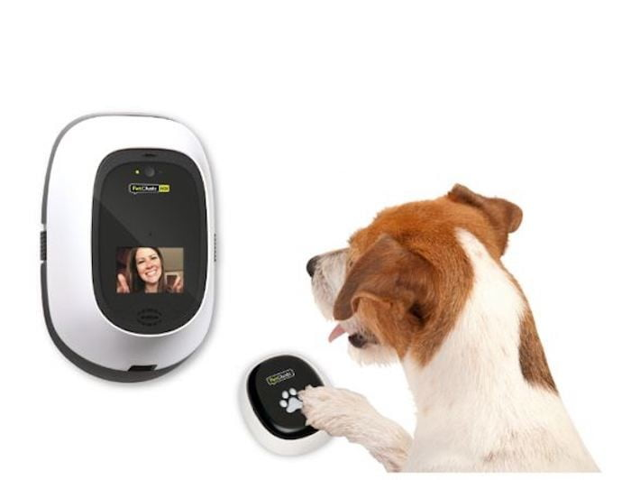 Always be a video call away from your pets with the PetChatz HDX