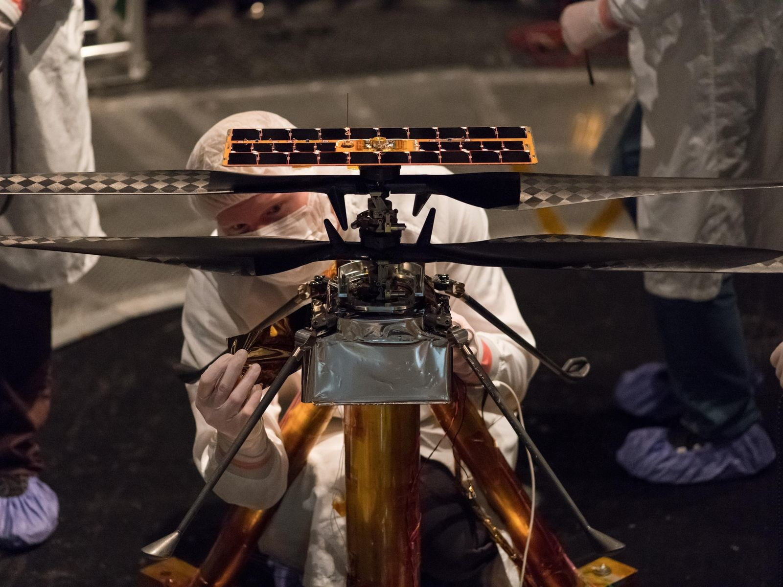 Autonomous helicopter joins its rover buddy for Mars 2020 mission