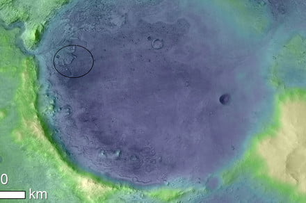 Mars 2020 mission will search for fossils in the Jezero Crater