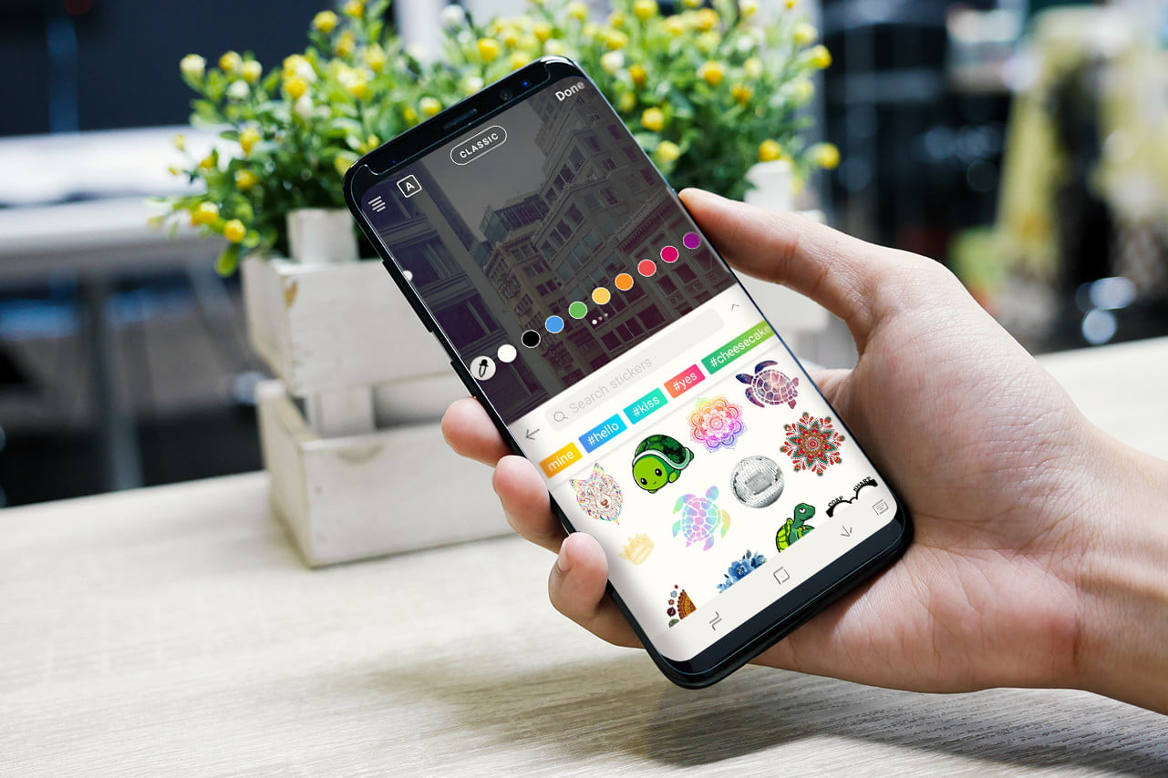 PicsArt Update Brings Custom Stickers To Third Party Apps on