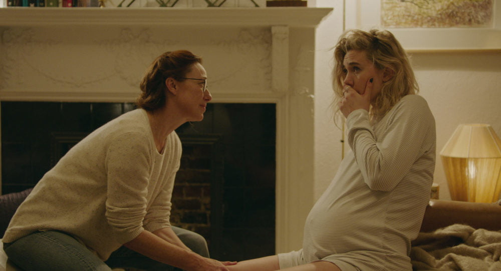 Molly Parker and Vanessa Kirby in Pieces of a Woman