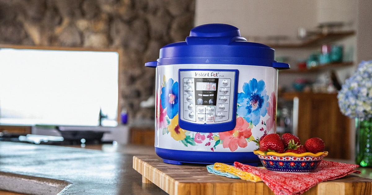 and Warmer The Pioneer Woman Instant Pot DUO60 6-Quart Frontier Rose 7-In-1 Multi-Use Programmable Pressure Cooker Saut/é Slow Cooker Rice Cooker Steamer Yogurt Maker