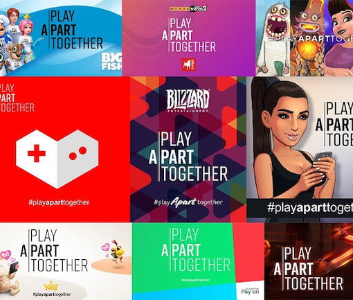 Play Apart Together Uses Games to Promote Social Distancing ...