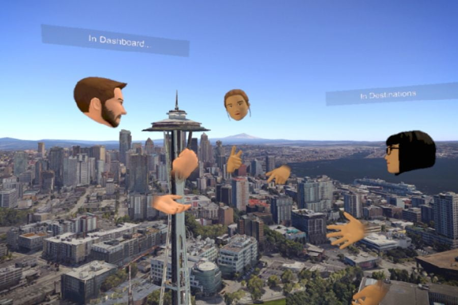 Free Pluto VR Chat App for Gamers Enters Early Access on