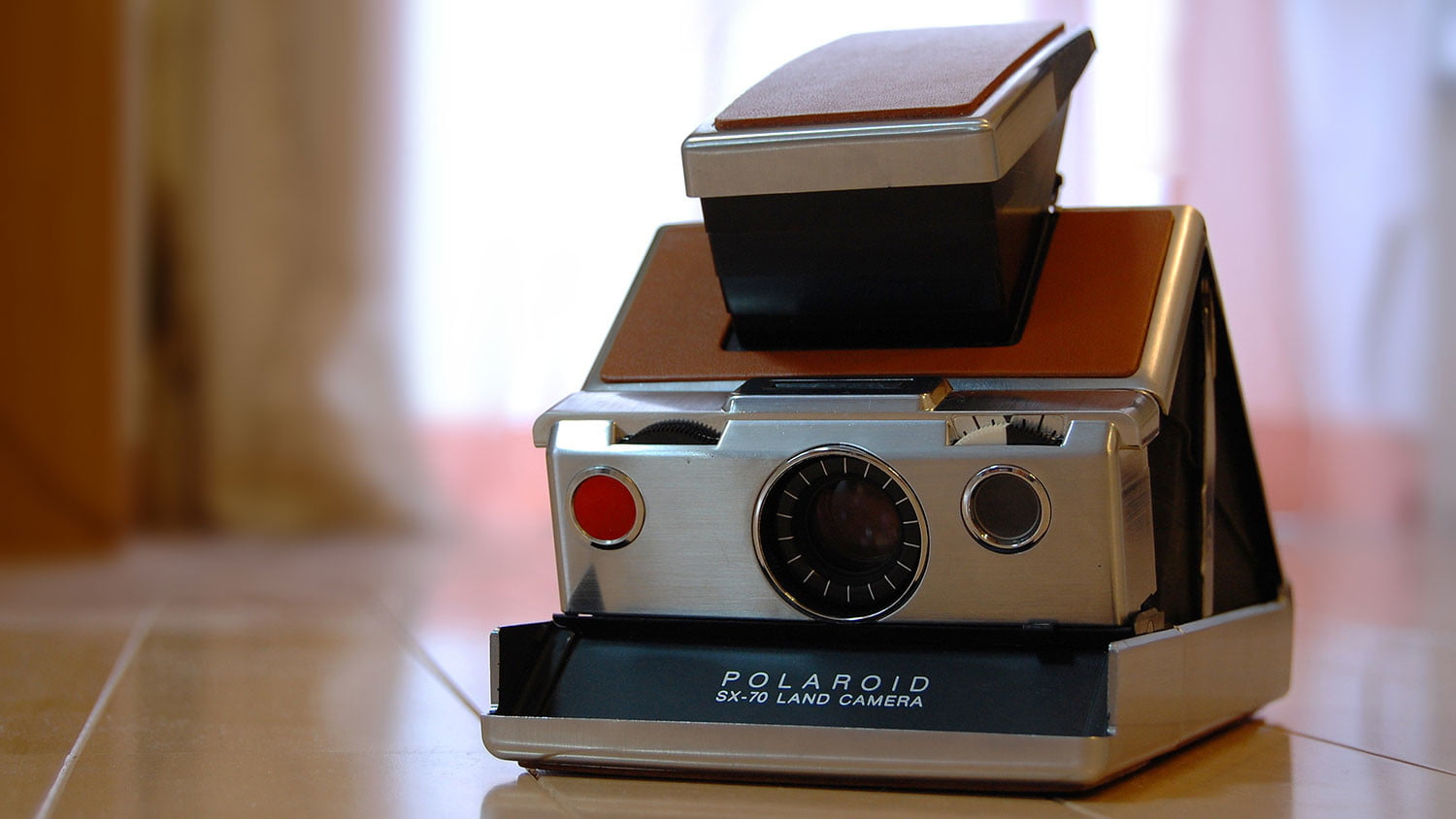 Blast from the past: A look inside Polaroid's SX-70 instant film camera