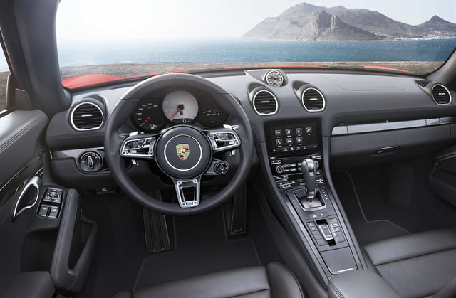 porsche 718 boxter and s boxster interior