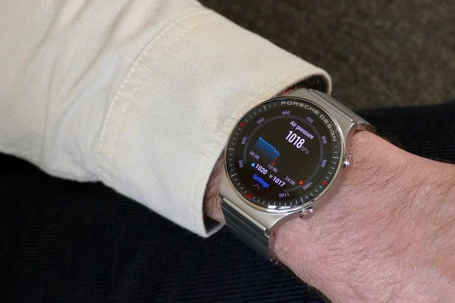 porsche design huawei watch gt2 product name hands on features price photos release date air pressure