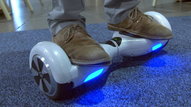 io hawk is a self balancing skateboard in the vein of segway