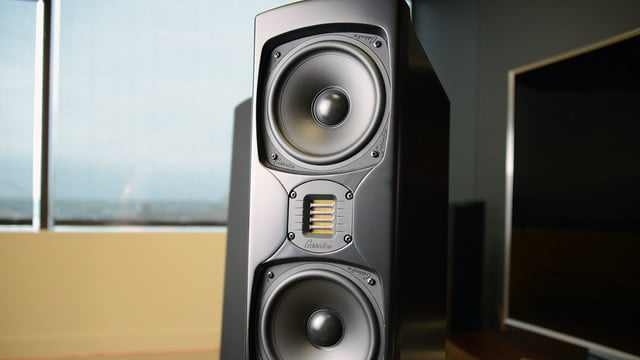goldenear triton five first look video 5  hands on review