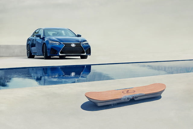 lexus hoverboard photos details specs has created a real  rideable
