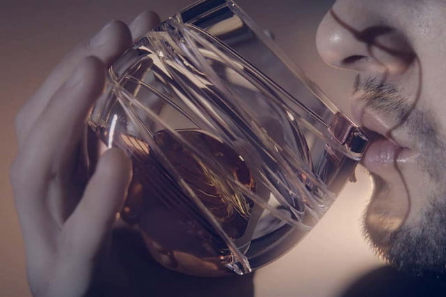 ballantines has invented a zero gravity whisky glass so you can get buzzed in space ballantine s