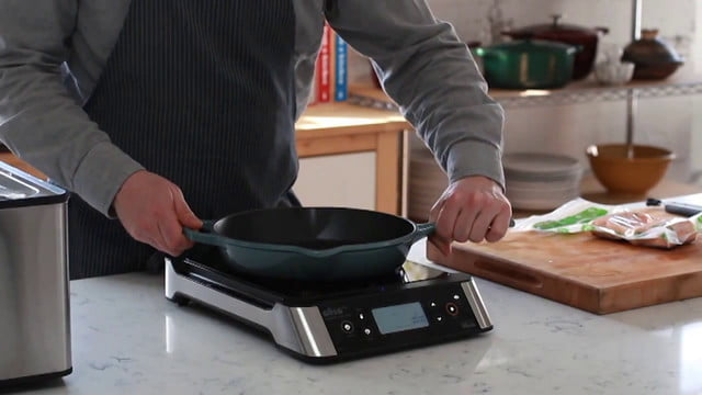 oliso smarthub sous vide induction cooktop the brings to countertops