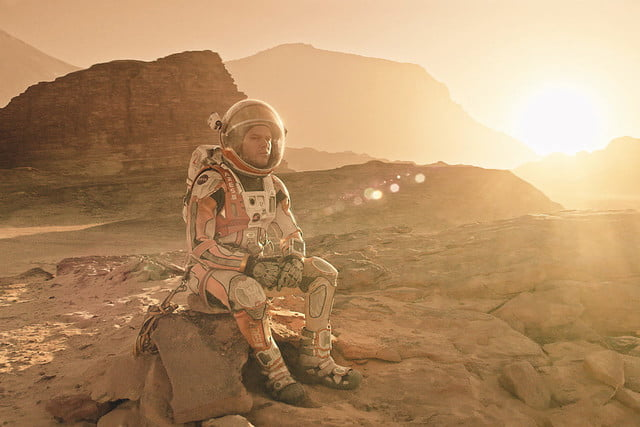 the martian vfx oscar effects  how brought mars to earth