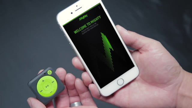 mighty audio portable music streaming without your phone finally  play streamed