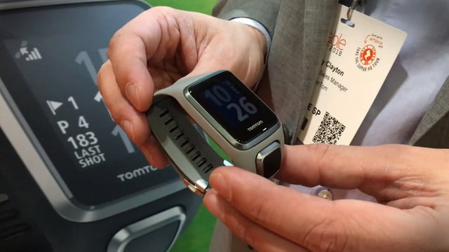 tomtom golfer 2 smartwatch news hands on  features price release