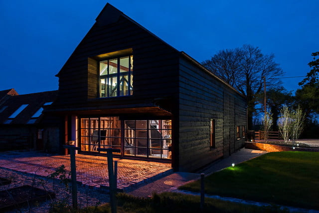 ancient party barn the went from 18th century to smart