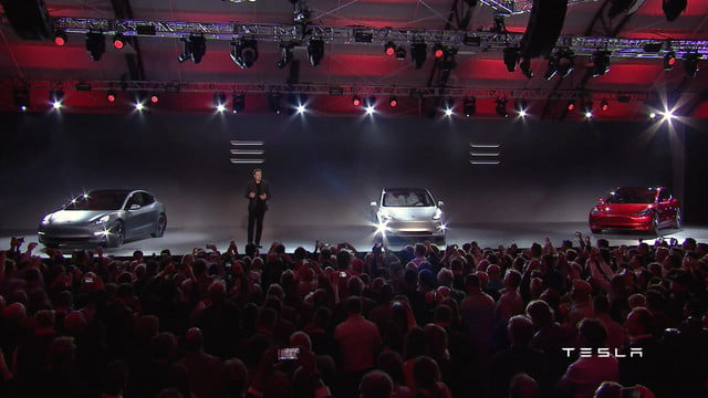 tesla model 3 to be unveiled in two parts official pictures  specs performance