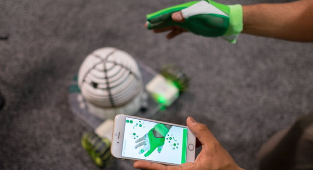zeroui zironatural user interface control your robot with the ziro smart glove