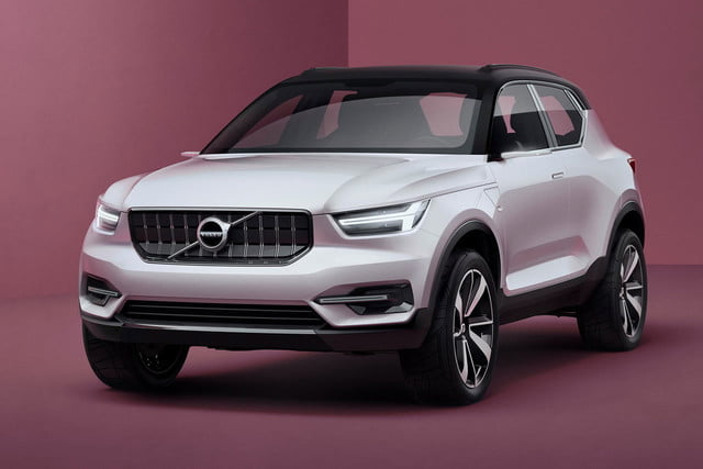 volvo 40 series compacts cma architecture presents concept 1 and 2