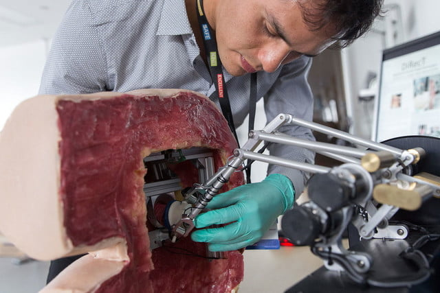 medical students robot prostate exam giving this a could help train future doctors