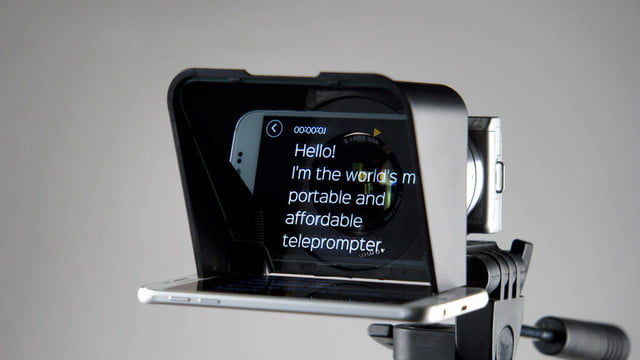 parrot 2 smartphone teleprompter turns your phone into a professional
