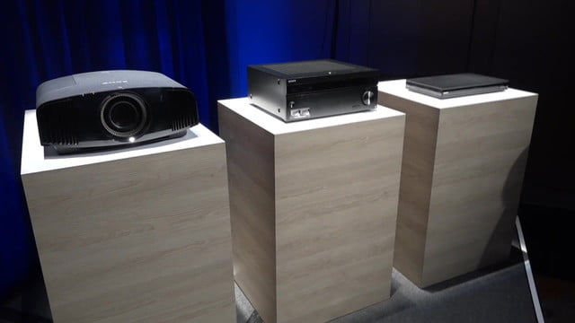 sony announces ubp x1000es 4k uhd blu ray player es series receivers  hdr projector announced