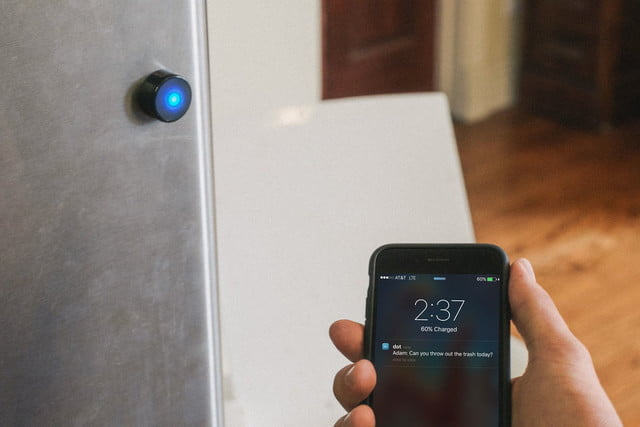 dot bluetooth beacon is a tiny that triggers actions