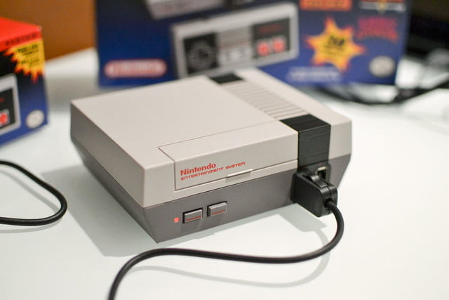 nintendo nes classic edition hands on first impressions