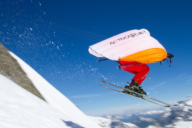 wingjump wings for skiing is the world s first set of