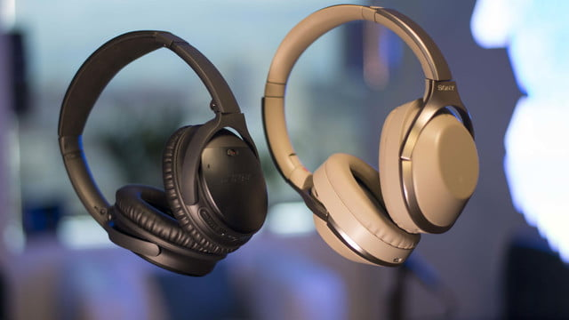 bose qc35 vs sony mdr 1000x wireless noise canceling headphone  hands on video