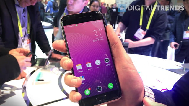 huawei honor magic hands on ces 2017 first impressions  stunning facial recognition