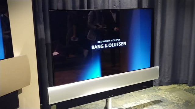 bang and olufsen lg beovision eclipse tv oled 4k hdr  team up for new