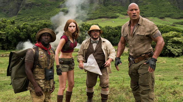 jumanji welcome to the jungle review  less wonder more comedy still fun