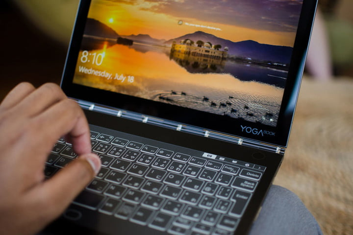 Lenovo's Dual-Screen Yoga Book Comes With Second Electronic