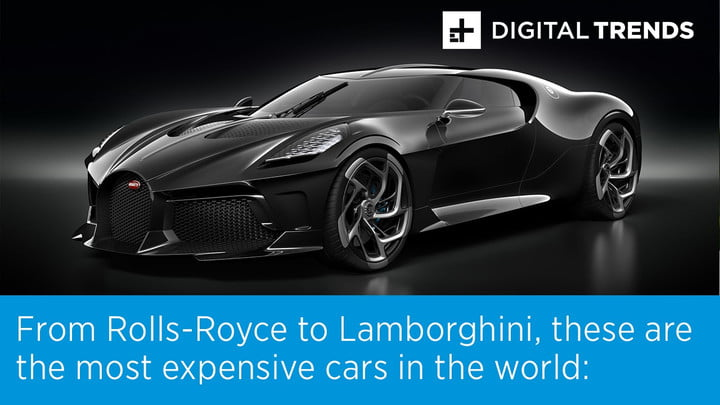 Most Expensive Car In The World >> The Most Expensive Cars In The World Digital Trends