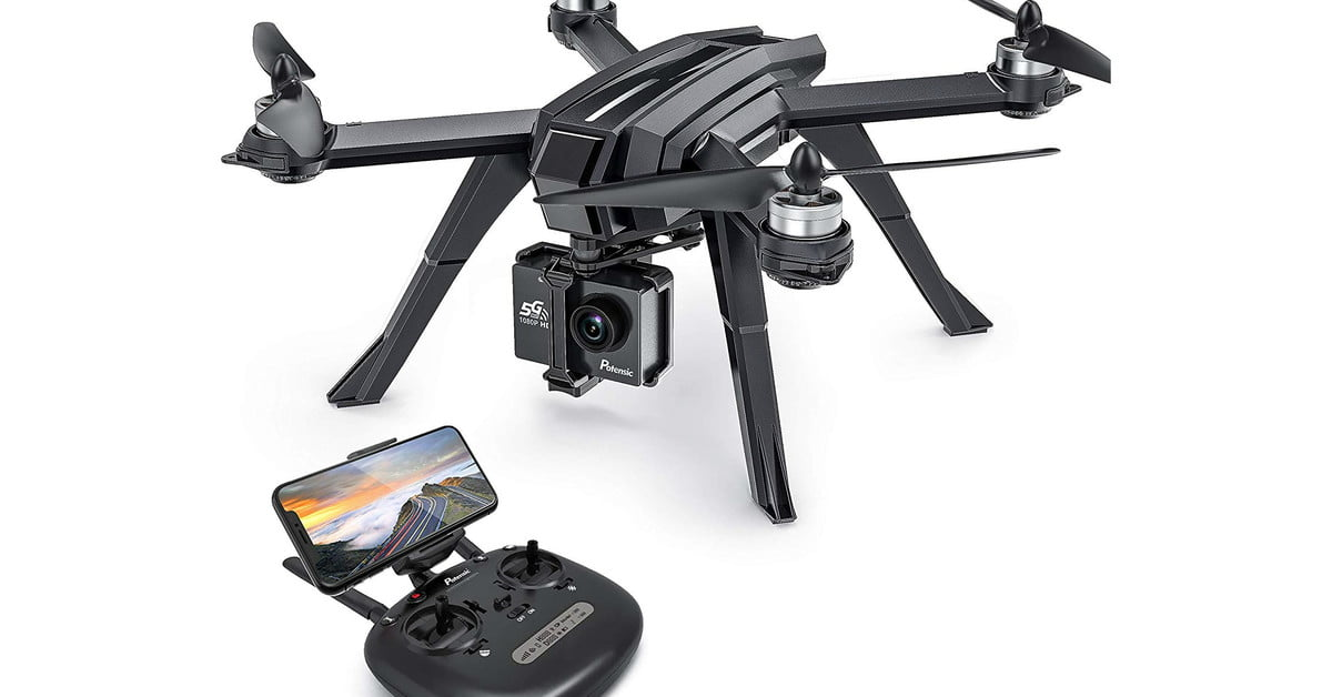 Take stunning aerial shots with the Potensic D85 drone, now $270 on Amazon