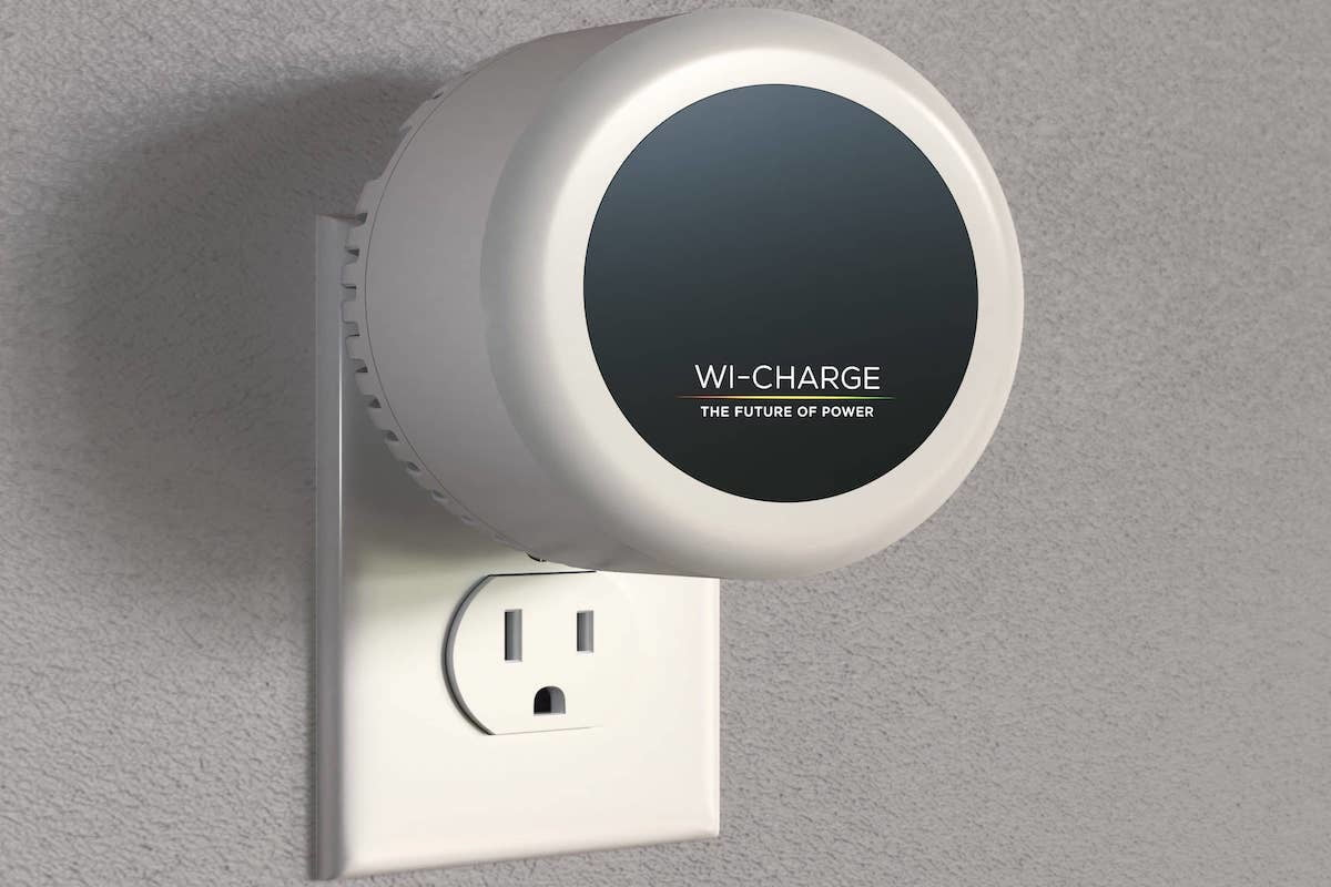 WiCharge's PowerPuck can power your smart home devices through the air