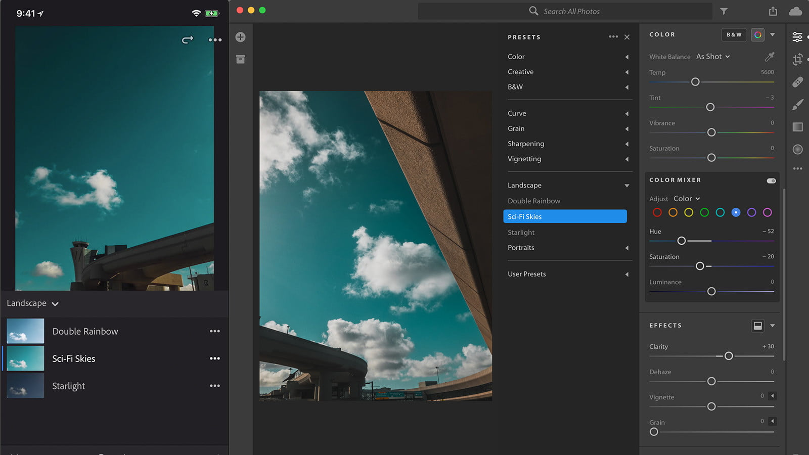 Lightroom CC Gets Synced Presets on Mobile, Batch Editing on