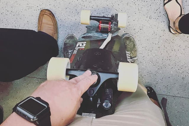 arc boards electric skateboard pure carbon 6