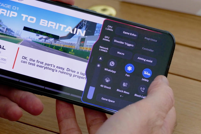 nubia red magic 5g review game space