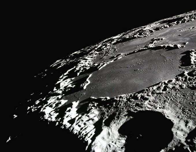 Dark craters on moon could contain vital resources for human explorers