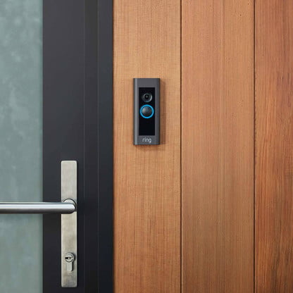 Ring Satin Nickel Video Doorbell Pro and Chime Pro Bundle