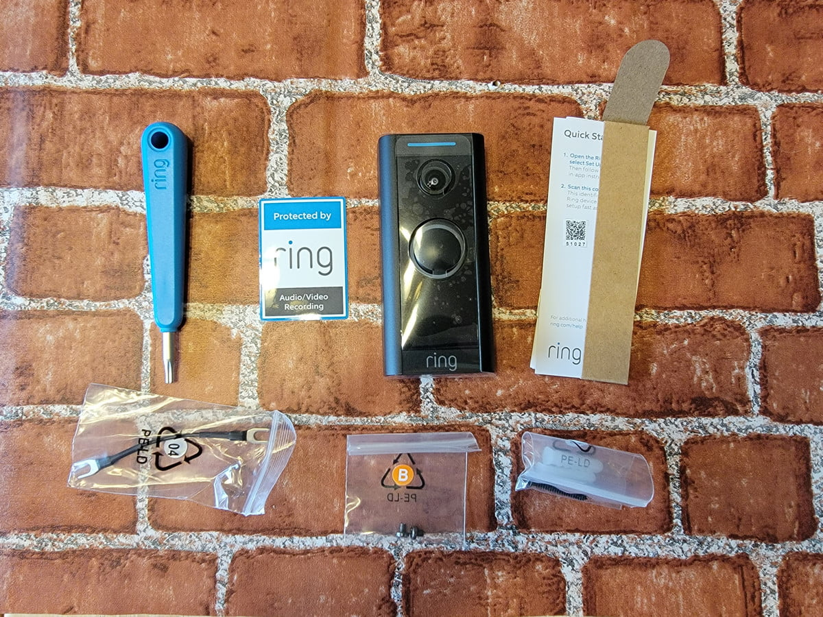 Installation tools needed for ring video doorbell wired.