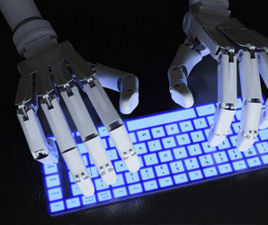 A robot named Heliograf got hundreds of stories published last year