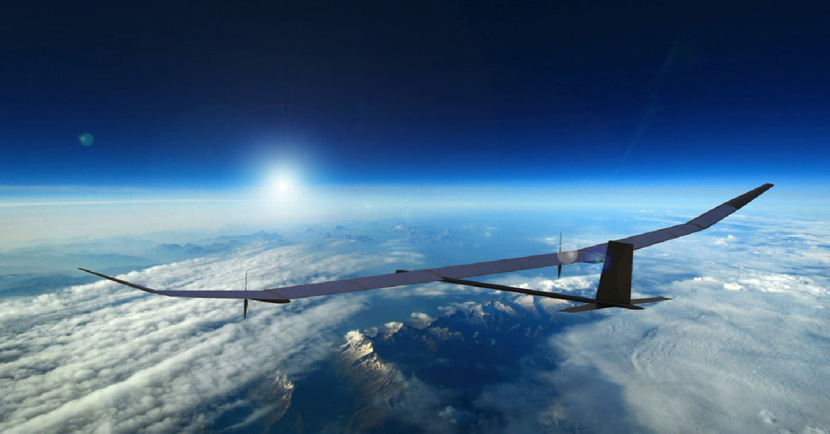 A defense company is building a drone that can fly continuously for one year