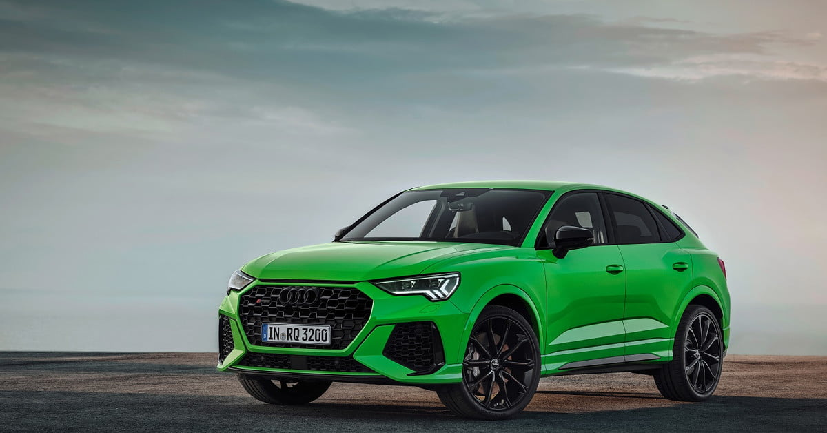 The 2020 Audi RS Q3 is a souped-up SUV you'll have to admire from afar