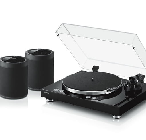 Yamaha's Wi Fi Enabled Home Turntable Lets You Stream Vinyl