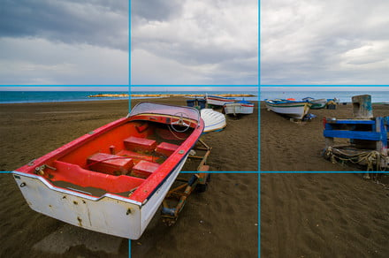 How to use photography's rule of thirds — and when to break it